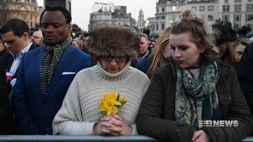 London holds vigil for terror attack victims