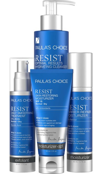 "<strong><em>Gift mum perfect skin with the ultimate skincare regime -</em></strong> <a href=""https://www.paulaschoice.com.au/resist-essential-kit-for-normal-to-dry-skin/407.html?cgid=category-kits-sets#start=2"" target=""_blank"" draggable=""false"">Paula's Choice RESIST Essential Kit, $157.99 </a>"