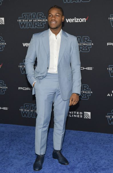John Boyega, Star Wars: The Rise Of Skywalker, world premiere, red carpet