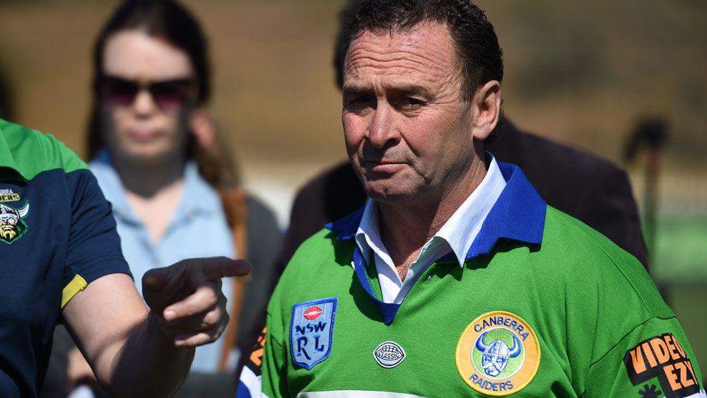 Raiders coach Ricky Stuart. (AAP)
