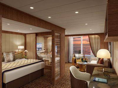 Seabourn Venture: Penthouse Suite