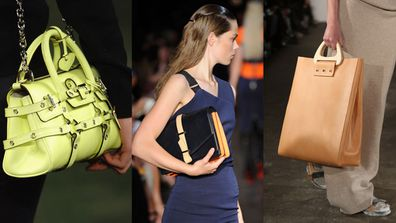 Katie Hillier has consulted (L-R) with Luella, Victoria Beckham and Joseph on accessories