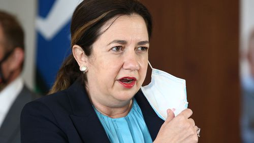 Queensland Premier Annastacia Palaszczuk has lashed out at the federal government's vaccine rollout plans.