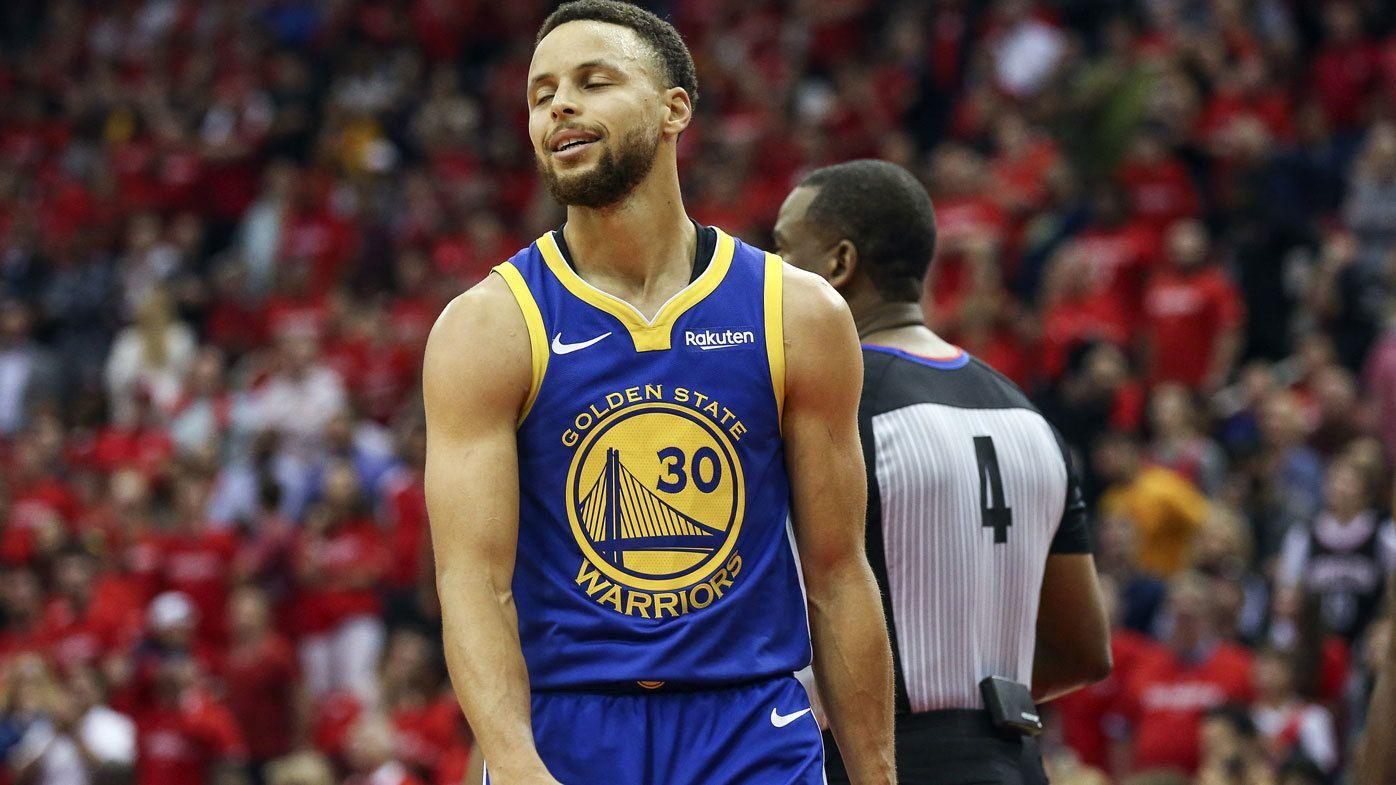 Harden's Rockets blast Warriors in NBA