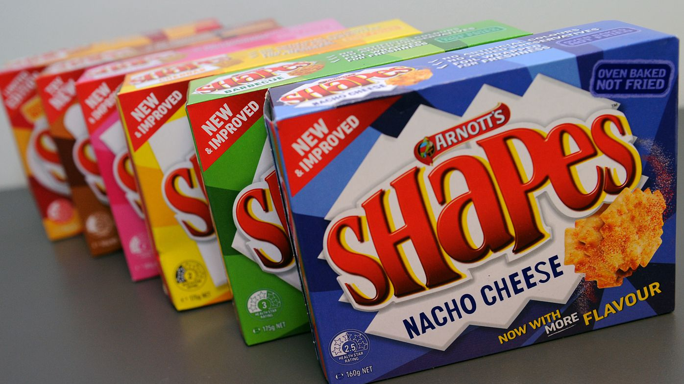 ac85f2bf9a9c0 Arnott's latest update of Shapes flavours caused considerable outrage. (AAP)