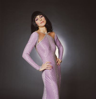 Cher promoting The Sonny and Cher Comedy Hour in 1972