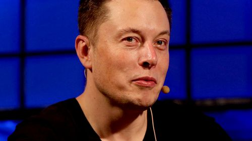 "Tech billionaire Elon Musk has sparked outrage after he called one of the Thai rescue divers a ""pedo"". Picture: AAP"