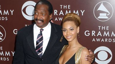 Mathew Knowles and daughter Beyoncé