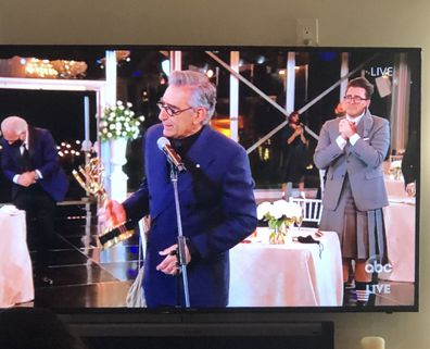 Emmys 2020: Eugene Levy wins Best Actor in a comedy series.