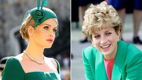 Lady Kitty Spencer has been compared to late Princess Diana. Picture: AP