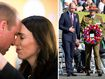 Prince William visits New Zealand for Anzac Day