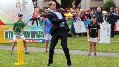 Prince William, April 2014