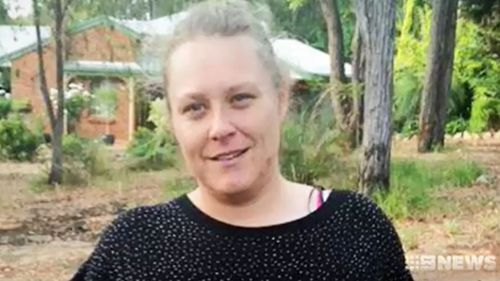 Trudy Clarke died when the car she was travelling in collided with an oncoming truck.