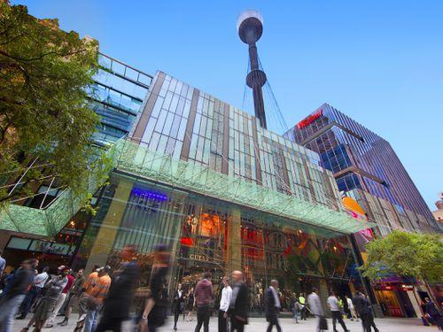 Westfield Sydney 是购物的热点。