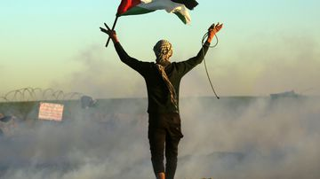 Most dangerous countries in the world to travel to Palestine
