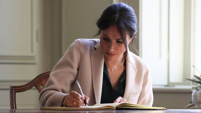 """I think handwritten notes are a lost art form"" - the Duchess of Sussex<em></em>"