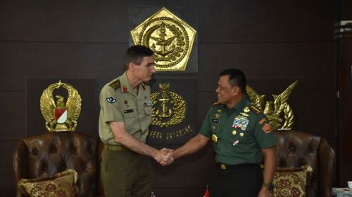 Indonesia military speaks after Aust visit