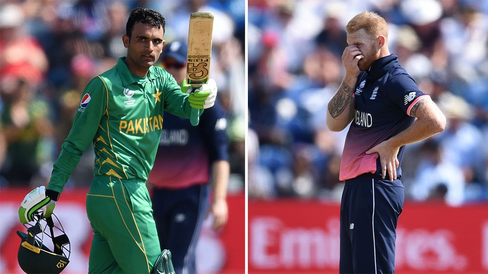 Ruthless Pakistan shock England in Champions Trophy in semi-final in Cardiff