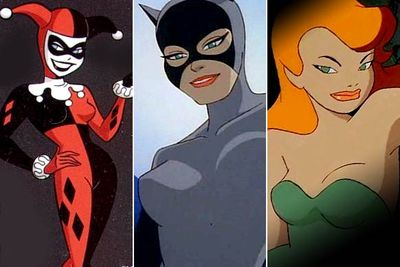<I>Batman: The Animated Series</I> is one of the most critically beloved animated series ever produced. It's also chock full of bangin' hotties in tight costumes. We're cheating by lumping Harley Quinn (aka Dr Harleen Quinzel), Catwoman (Selena Kyle) and Poison Ivy (Pamela Isley) into one slide, but it's hard to rate one over the other.