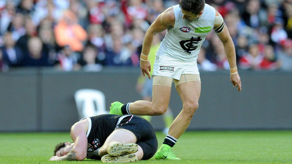 The AFL needs to act after ugly incident directed at Carlton skipper