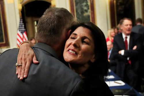 Ambassador Haley was an outspoken, loyal and popular member of the mostly male Trump cabinet.