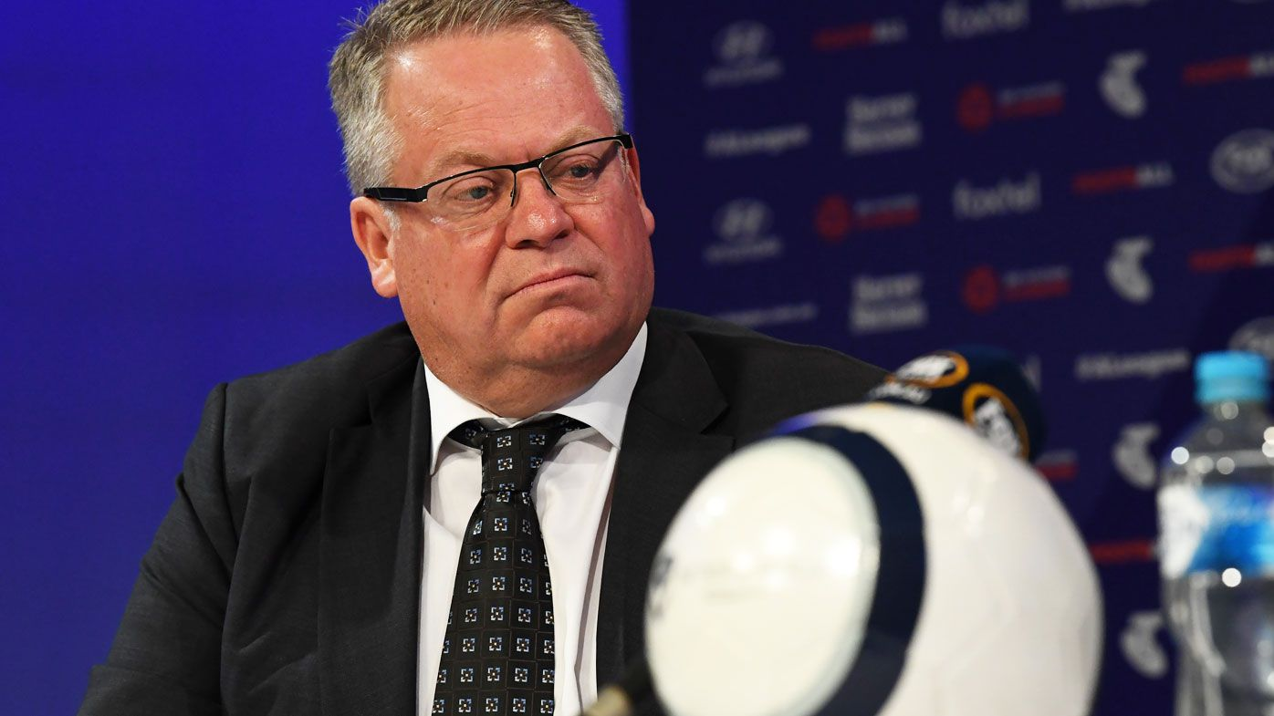Football: VAR here to stay, says head of A-League Greg O'Rourke
