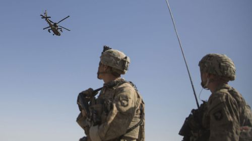 Republicans in Congress want the coronavirus support package to include money for more Apache helicopters.