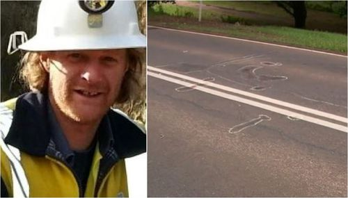 A sudden flash of light may have made Mr Airs suppose he was struck by lightning, detectives said. (9NEWS)