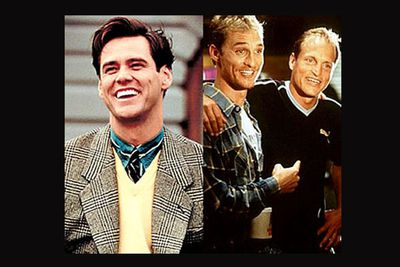 """<div align=""""left""""><B>In <I>The Truman Show</I>...</B> An unscrupulous TV production company turns man's life into popular entertainment. Things don't quite go as planned, and he tries to find a way out of the show.<br/><br/><B>In <I>EDtv</I>...</B> An unscrupulous TV production company turns man's life into popular entertainment. Things don't quite go as planned, and he tries to find a way out of the show.</div>"""