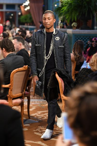 Pharrell takes to the runway at The Ritz. Chanel, Metiers D'Arts 2016/17