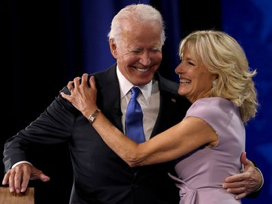 Joe and Jill Biden, 2020