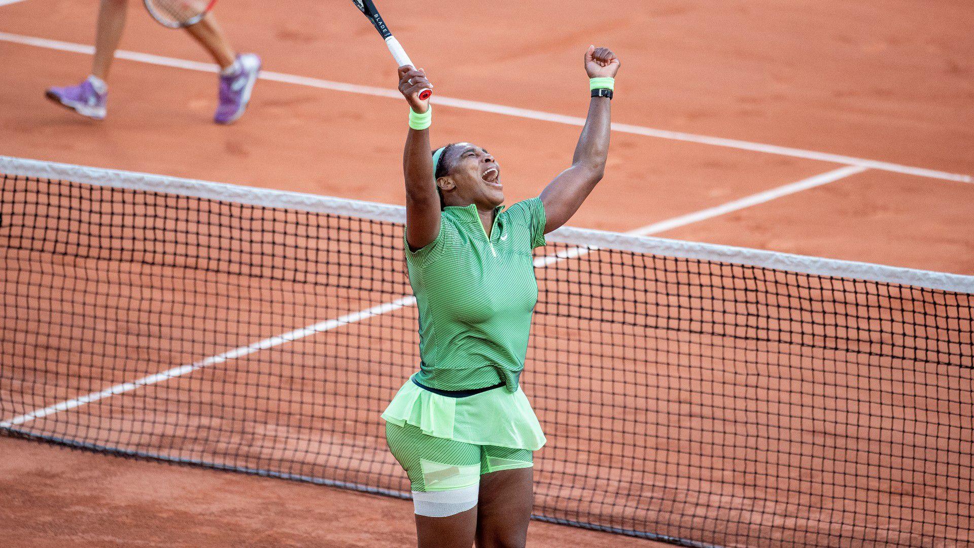 Serena Williams wins in second round at Roland Garros, surviving tough three-setter