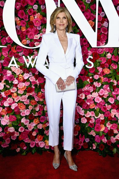 <p>The A-list have come out to celebrate Broadway&rsquo;s biggest night at the 72nd annual Tony Award&rsquo;s at New York&rsquo;s Radio City Music Hall.</p> <p><em>The Good Wife</em> star Christine Baranski gave her younger counterparts a run for their money in a chic white pant suit by Alexandre Vauthier, offering a tailored, sleek and structured look. </p> <p>While comedian Tina Fey and actress Kerry Washington brought the sparkle, both dazzling in silver. Washington wore a silver Versace pantsuit with Lorraine Schwartz jewels, while Fey shone in a Thom Browne gown with feather detailing.</p> <p>Click through to take a look at the most talked about looks of the evening.</p>