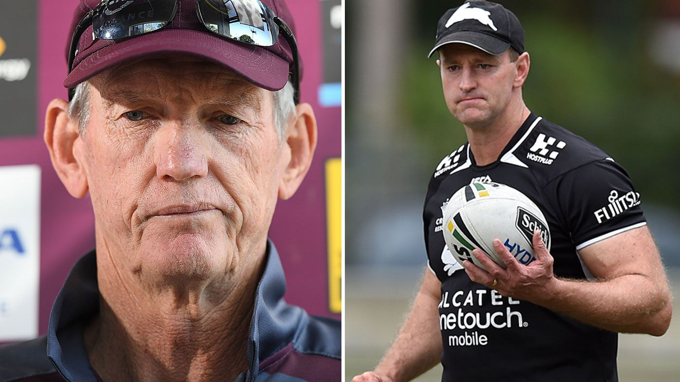 NRL: Michael Maguire headhunted to replace Wayne Bennett as head coach of Brisbane Broncos