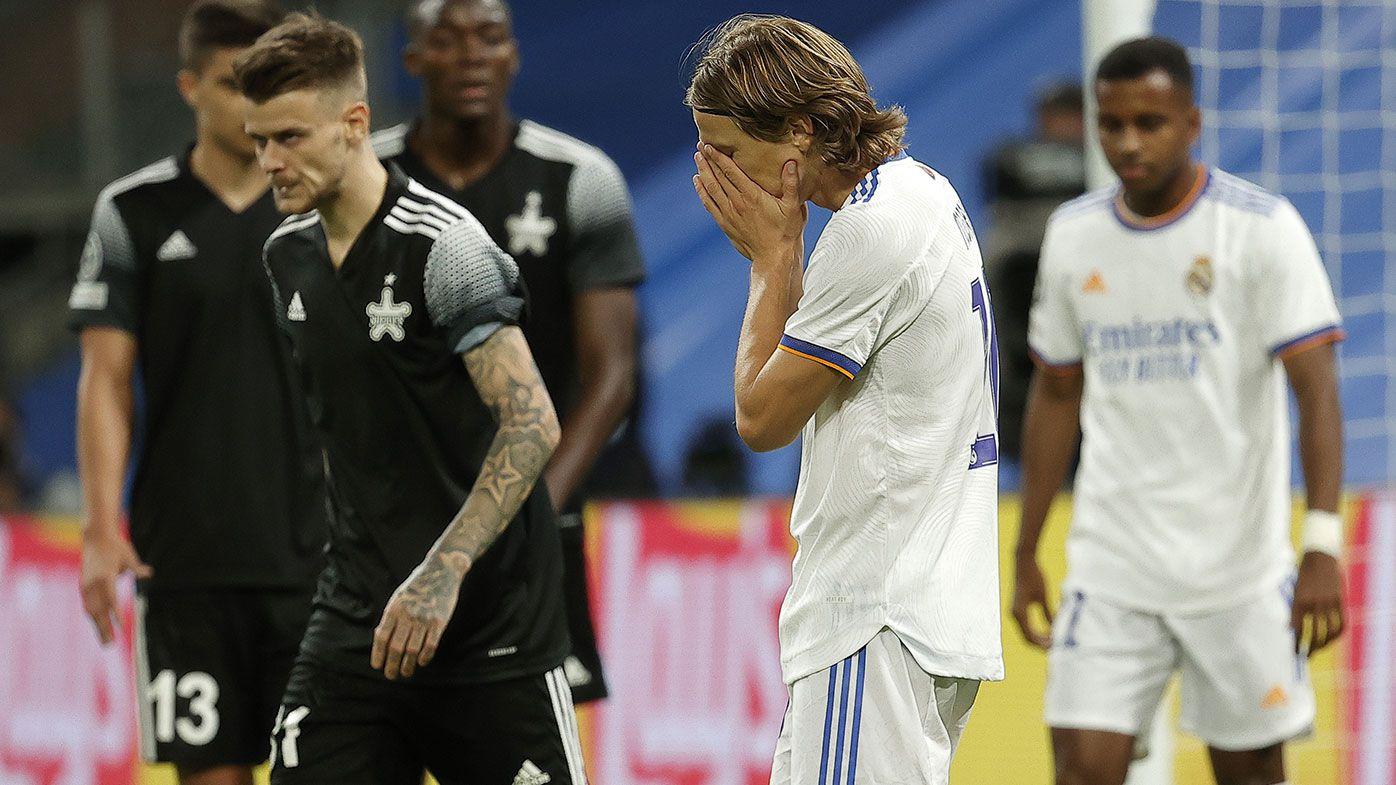 Incredible Champions League upset as Moldovan club Sheriff stuns Real Madrid 2-1