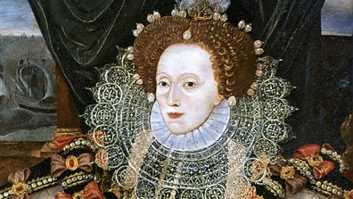 Queen Elizabeth I was left scarred by smallpox which saw her wearing dramatic makeup during her reign.