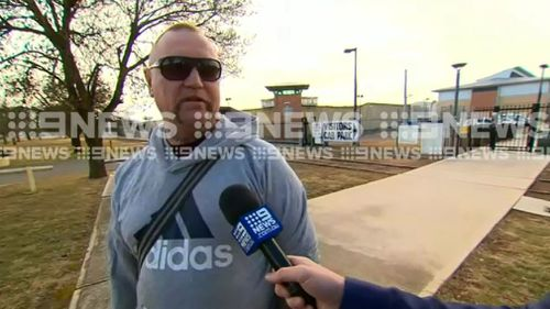 Convicted drug dealer David Brooks has been released from prison for violating his parole. Picture: 9NEWS