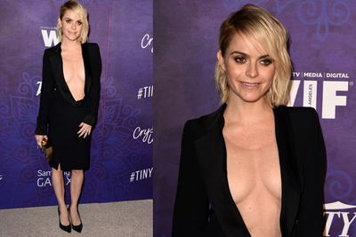 Wowser Taryn Manning! That's a lot of cleavage right there...