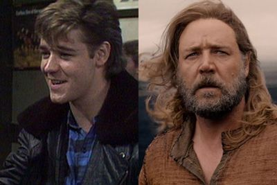 THEN: As Kenny Larkin in <i>Neighbours</i> (1987). Check out that mullet!<br/><br/>NOW: Looking much scruffier in 2014 film <i>Noah</i>.