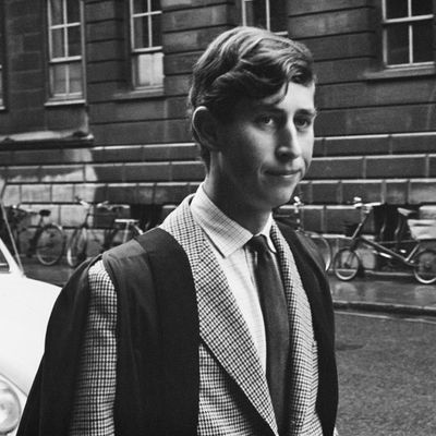 Prince Charles during his teenage years