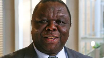 Zimbabwe opposition leader Morgan Tsvangira. (AP)