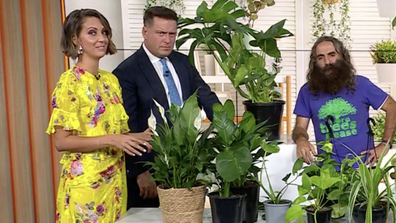 Brooke fessed up to the plant fail as Costa was on to discuss hardy houseplants.