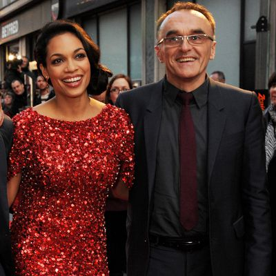 <em></em>Rosario Dawson and Danny Boyle