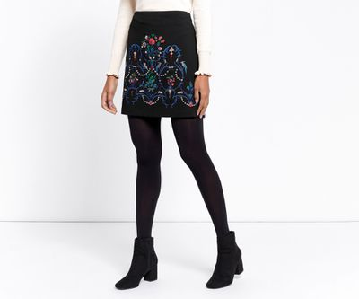 "<a href=""http://www.oasis-stores.com/au/clothing/skirts/warner-embroidered-skirt/060592.html?dwvar_060592_color=58&position=3&cgid=skirts#&start=3&categoryID=skirts"" target=""_blank"">Oasis</a> embroidered skirt, $82<br>"