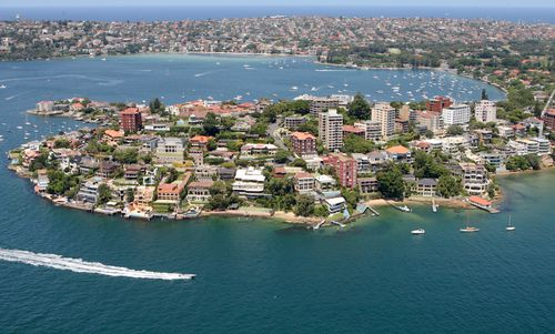 An aerial shot of Sydney harbour. UNSW research has indicated residential renters have been pushed out of pockets of Sydney and Melbourne because of the rise of Airbnb.