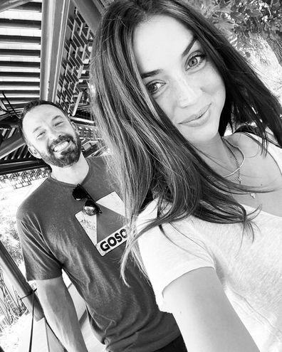 Ben Affleck and Ana de Armas.