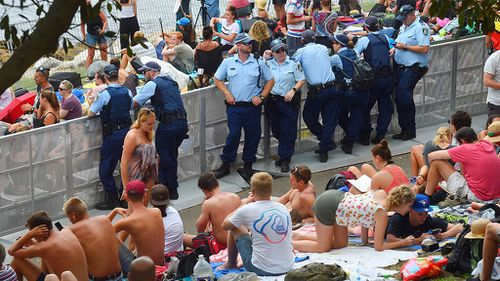 Police happy with Sydney's low number of New Year's Eve arrests