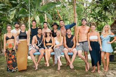 The cast of the first season of 'Bachelor in Paradise Australia'.