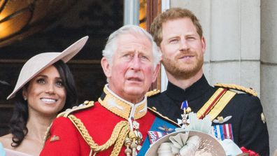 Meghan, Harry and Charles