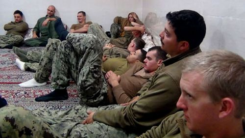 Iran releases ten US Navy sailors after holding them overnight